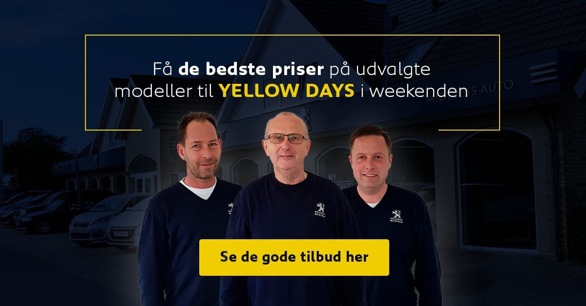 ÅBENT HUS I WEEKENDEN KL. 11-16
