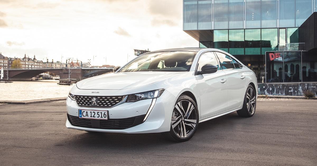 PEUGEOT 508 har vundet Årets Bil Designprisen 2019