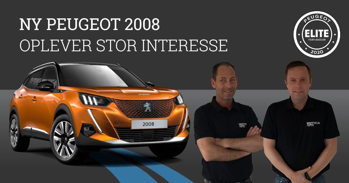 Præsentation af den nye Peugeot 2008